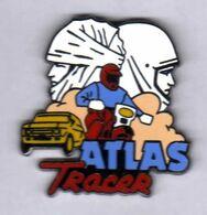 Pin's Auto Moto Atlas TRacer Zamac  AMC - Motorbikes