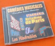 CD Comédies Musicales Les Plus Belles Chansons Starmania,Notre Dame De Paris - Musique & Instruments