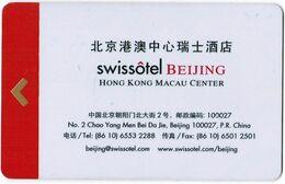 CINA KEY  HOTEL   Swissotel Beijing - Hotelsleutels (kaarten)