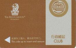 CINA KEY  HOTEL   The Ritz-Carlton GuangZhou - Hotelsleutels (kaarten)