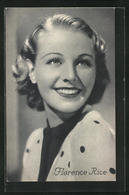 AK Schauspielerin Florence Rice Mit Bezauberndem Lächeln - Acteurs