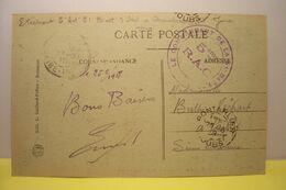 MILITARIA  - PONTARLIER - Les Dames Des Entreportes  - Cachet Militaire 5eme R.C.A. - 51e Batterie ( CHAMPAGNOLE ? ) - Pontarlier