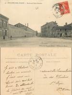 D - [503701]B/TB//-France  - (51) Marne, Châlons-Sur-Marne, Boulevard Saint-Antoine, Architectures - Châlons-sur-Marne