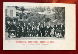 Luxembourg Mondorf Grossherzogl . Kurorchester - Mondorf-les-Bains