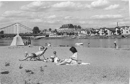 6107 - 58 - NIEVRE - COSNE SUR LOIRE - Bords De Loire - Pont Suspendu - Cosne Cours Sur Loire