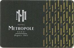 VIETNAM KEY HOTEL  Hotel Metropole Hanoi - Hotelsleutels (kaarten)