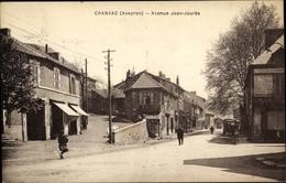 CPA Cransac Aveyron, Avenue Jean Jaures - Francia