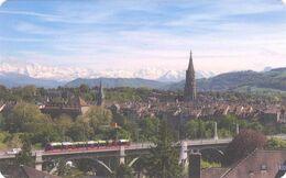 SVIZZERA KEY HOTEL  Kursaal - Bern - Hotelsleutels (kaarten)