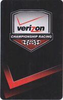 STATI UNITI KEY HOTEL  Verizon Championship Racing - Hotelsleutels (kaarten)