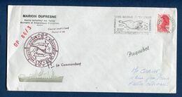 TAAF - Terres Australes Et Antarctiques Françaises - Premier Jour - FDC - Marion Dufresne - 1986 - FDC