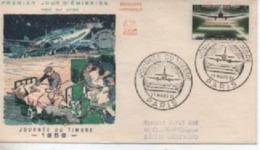 1959  FDC   JOURNEE DU TIMBRE PARIS  N° YVERT ET TELLIER  1196 - 1950-1959