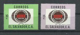 EL SALVADOR  YVERT  840/41  MNH  ** - El Salvador
