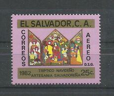 EL SALVADOR  YVERT  AEREO  549  MNH  ** - El Salvador
