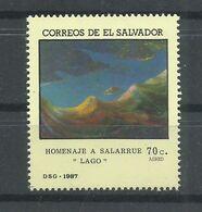 EL SALVADOR  YVERT  AEREO  657  MNH  ** - El Salvador