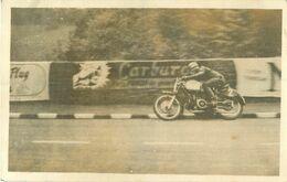 Photo De Moto Ancienne 11x7 Cm  Réf 2128 - Motorfietsen