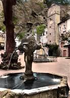 CPSM - COTIGNAC - Place De La MAIRIE La Fontaine  - Edition Combier - Cotignac