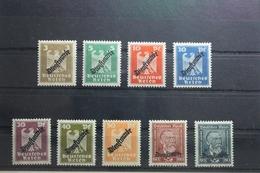 Deutsches Reich Dienstmarken 105-113 ** Postfrisch #US076 - Officials