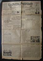 La Petite Gironde, 21 Septembre 1939, Le Discours D'Hitler à Dantzig, Etc... - Giornali