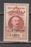 COTE DES SOMALIS      N°  YVERT  :   224  NEUF AVEC  CHARNIERES      (  CH  02/46 ) - Côte Française Des Somalis (1894-1967)