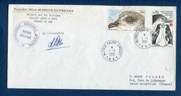TAAF - Terres Australes Et Antarctiques Françaises - Premier Jour - FDC - Marion Dufresne - 1981 - FDC