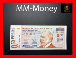 "ARGENTINA 0,50 Pesos 2002 P. S NL  Provincia De Buenos Aires  ""PATACON""    UNC   [MM-Money] - Argentina"