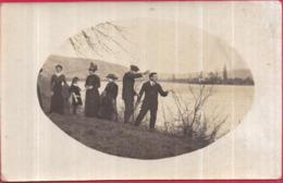 Dépt 69 - AMPUIS - Carte-photo - 1915 - Personnages Aux Bord De L'eau - 2 Scans - Frankreich