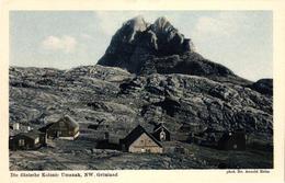 Grönland, Die Dänische Kolonie Umanak, Phot. Dr. Arnold Heim - Groenlandia