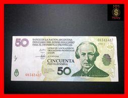 """ARGENTINA 50 Pesos 2001 P. S NL Banco De La Nacion  """"LECOP""""   XF   [MM-Money] - Argentina"""