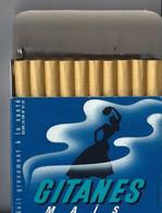 CIGARETTES Paquet De Cigarettes GITANES MAIS OUVERT Avec 19 Cigarettes - PAQUET EN PARFAIT ETAT - Sigarette - Accessori