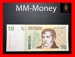 ARGENTINA 10 Pesos 2010 P. 354 Serie F  UNC-  [MM-Money] - Argentina
