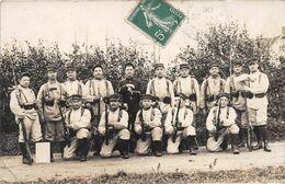 ¤¤  -  Carte-Photo Militaire Non Située   -  Soldats En Manoeuvres En 1910    -  ¤¤ - Manovre