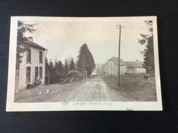 CP Ancienne De Langlire : Entrée Du Village (1933) - Gouvy