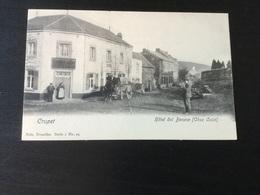 CP Ancienne Neuve De Crupet : Hôtel Dol Besace : + Attelage - Assesse