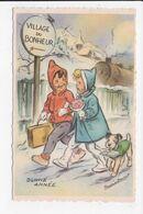 CP ILLUSTRATEUR GERMAINE BOURET Bonne Année - Bouret, Germaine