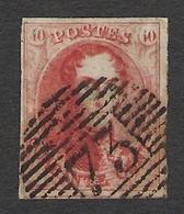 Belgique 1858 Leopold I 40c Nº 12 Used . Cat 90€ - 1858-1862 Medallions (9/12)