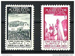 Marruecos **305/6 En Nuevo Sin Charnela. - Spanisch-Marokko