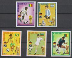Soccer World Cup 1974 - UPPER VOLTA - Set Imp. MNH - 1974 – Alemania Occidental