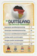 "KRO Mikrogids WK-kaartspel 2010 Duitsland-germany ""die Deutsche Mannschaft"" D1 - Andere Sammlungen"