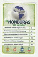 """KRO Mikrogids WK-kaartspel 2010 Honduras """"los Catrachos"""" H3 - Andere Sammlungen"""
