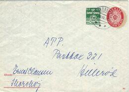 Ganzsachen-Umschlag Thorshoj 1966 - Postal Stationery