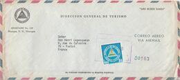 NICARAGUA LETTRE POUR LA FRANCE - Nicaragua