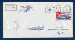 TAAF - Terres Australes Et Antarctiques Françaises - Premier Jour - FDC - Alfred Faure - Crozet - 1977 - FDC