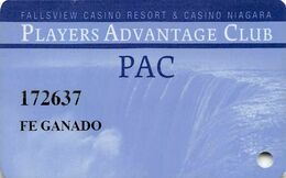 CANADA  KEY CASINO  Fallsview Casino Resort & Casino Niagara - Casinokarten