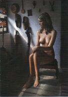 Elek Pap ( Hungary ) - Pin-Ups,girl ,topless,unused Postcard,Prined By Macedonia - Pin-Ups