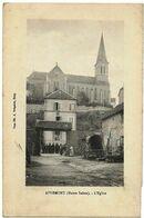 APREMONT (70) L'Eglise, Envoi 1919 - Andere Gemeenten