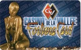 ITALIA KEY CASINO  Casino De La Vallee-Fortuna Card -     Saint Vincent - Casinokarten