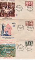 1959  FDC   CELEBRITES       N° YVERT ET TELLIER   207/2 - 1950-1959