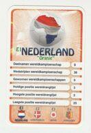 "KRO Mikrogids WK-kaartspel 2010 Nederland-the Netherlands ""oranje"" E1 - Andere Sammlungen"