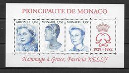 2004 - MONACO - BLOC N° 89 ** MNH - PRINCESSE GRACE - Bloques