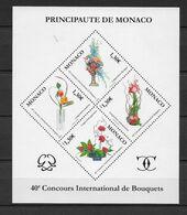 2006 - MONACO - BLOC N° 93 ** MNH - FLEURS - Bloques